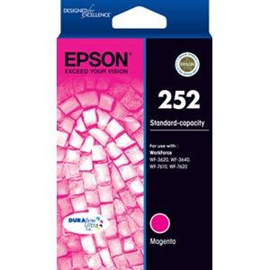 Epson 252 Genuine Magenta Ink Cartridge - 300 pages