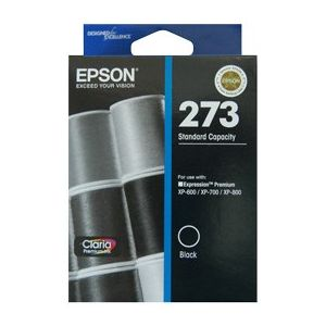 Epson 273 Genuine Black Ink Cartridge - 250 pages