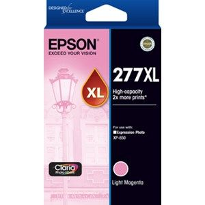 Epson 277XL Genuine High Yield Light Magenta Ink Cartridge - 740 pages
