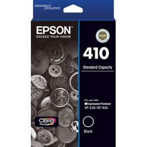 Epson 410 Genuine Black Ink Cartridge