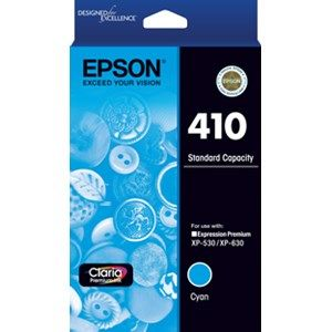 Epson 410 Genuine Cyan Ink Cartridge