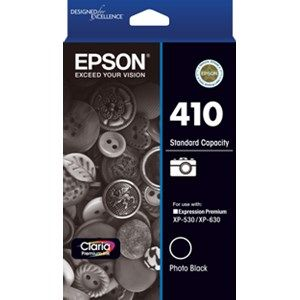 Epson 410  Genuine Photo Black Ink Cartridge