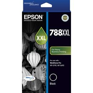 Epson 788XXL Genuine Black Ink Cartridge - 4,000 pages