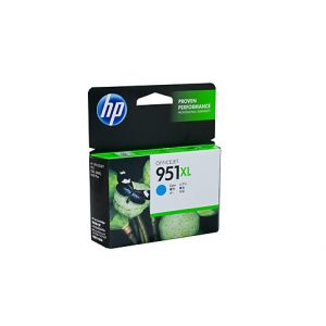 HP #951XL Genuine Cyan Ink CN046AA - up to 1,500 pages