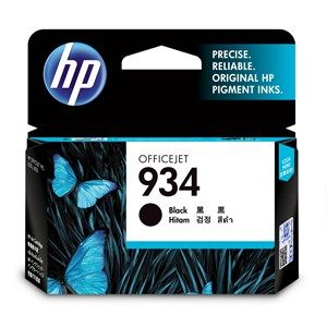 HP #934 Genuine Black Ink Cartridge C2P19AA - 400 pages