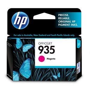 HP #935 Genuine Magenta Ink Cartridge C2P21AA - 400 pages