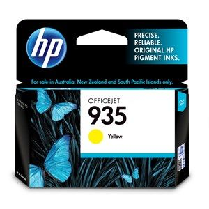 HP #935 Genuine Yellow Ink Cartridge C2P22AA - 400 pages