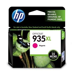 HP #935XL Genuine Magenta High Yield Ink Cartridge C2P25AA - 825 pages