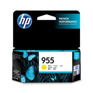 HP #955 Genuine Yellow Ink Cartridge L0S57AA - up to 700 pages