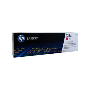 HP #128A Genuine Magenta Toner CE323A - 1,300 pages