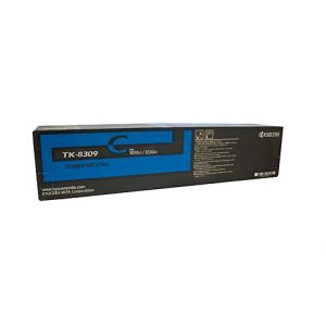 Kyocera TK8309C Genuine Cyan Toner - 15,000 pages