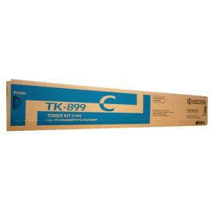 Kyocera TK899C Cyan Toner - 6,000 pages