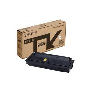 Kyocera TK6119 Black Toner - 15,000 pages