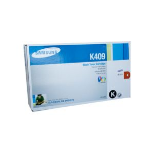 Samsung CLTK409S Genuine Black Toner - 1,500 pages
