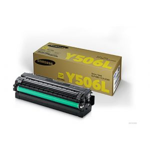 Samsung CLTY506L Genuine Yellow Toner Cartridge SU517A - 3,500 pages