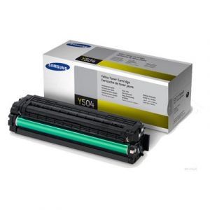 Samsung CLTY504S Genuine Yellow Toner Cartridge SU504A - 1,800 pages