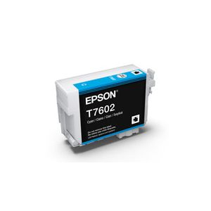 Epson 760 Genuine Cyan Ink Cartridge