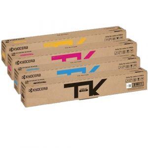 Kyocera TK-8119 Genuine 4 Pack Toner ECOSYS M8130CIDN, M8124CIDN [1BK,1C,1M,1Y]