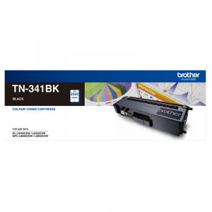 Brother TN341 Genuine Black Toner Cartridge - 2,500 pages