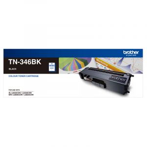 Brother TN346 Genuine Black Toner Cartridge - 4,000 pages