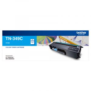 Brother TN349 Genuine Cyan Toner Cartridge - 6,000 pages