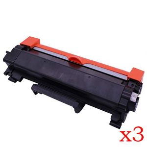 3 x Ecotech, Brother TN2450 Compatible Toner Cartridge - 3,000 pages