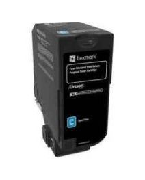 Lexmark C2360C0 Genuine Cyan Toner Cartridge - Standard Capacity  1,000 pages