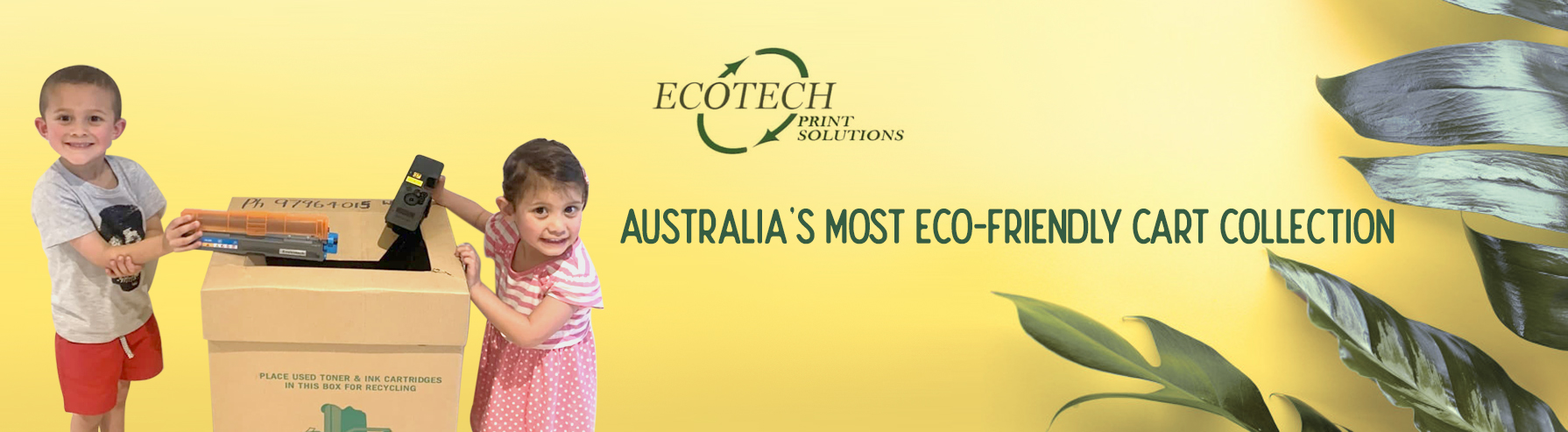Why Recycle with Ecotech Print Solutions